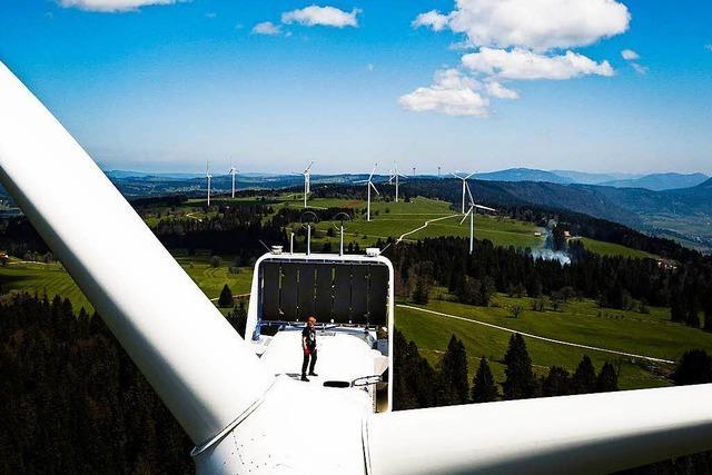 Die Schweizer sagen laut Hochrechnung Ja zur Energiewende