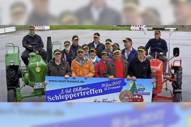 Am 18. Juni kommen 400 alte Bulldog-Trecker nach Freiamt