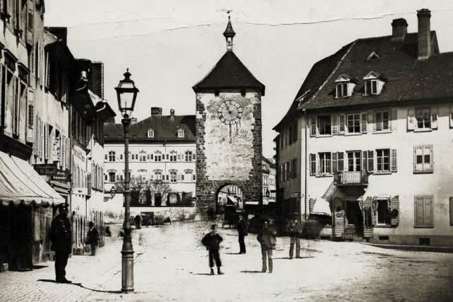 So sah das Quartier vor dem Martinstor 1860 aus