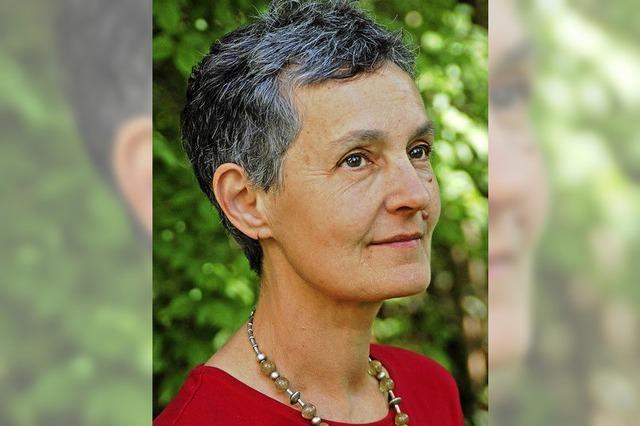 Ingeborg Gleichauf in Lahr im Rahmen der Literaturtage