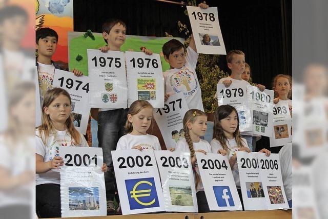 Eschbach feiert den 50. Geburtstag seines Schulgebäudes am Sommerberg