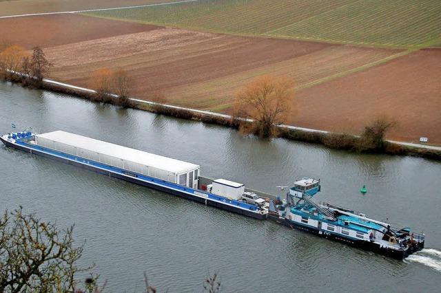 Einspruch gegen Castoren auf dem Neckar