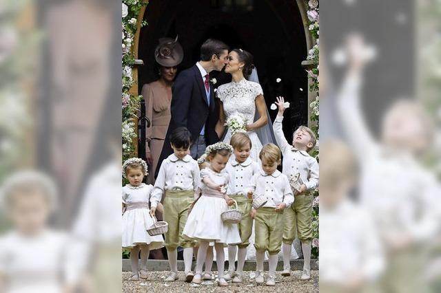 Pippa, die Schwester von Herzogin Kate, hat geheiratet