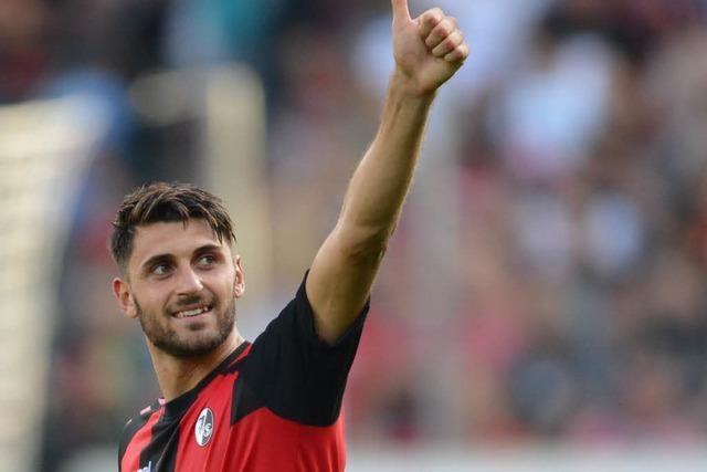 Jetzt ist es offiziell: Vincenzo Grifo verlässt den SC Freiburg