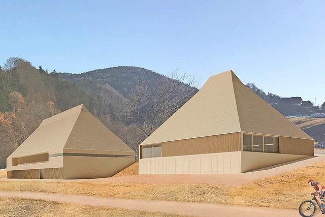 Moderne Architektur im Doppelpack