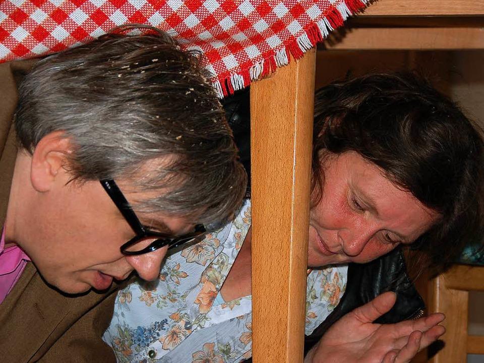 Es war eine Lust zu sehen, wie gelenki...uten Stube immer wieder untertauchten.  | Foto: Jutta Binner-Schwarz