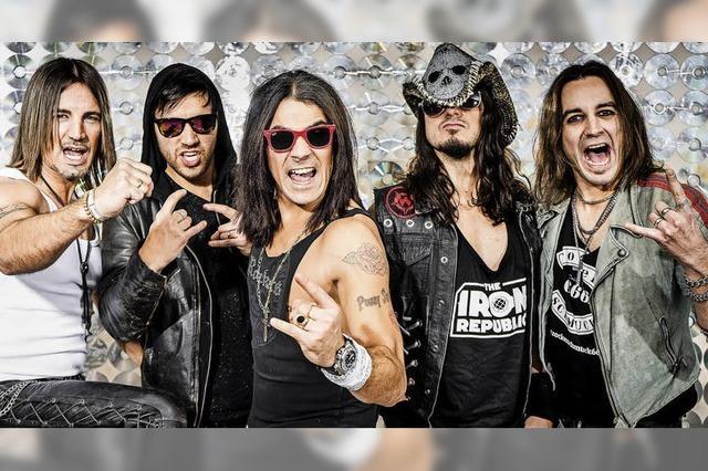 Rock 'n' Roll mit Pussy Sisster im Lahrer Schlachthof