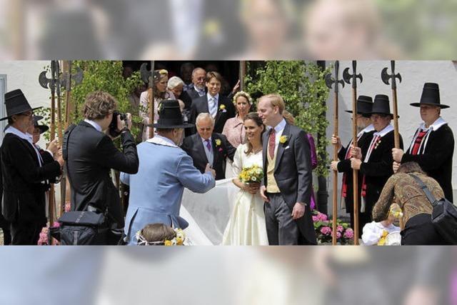 Adlige Hochzeit
