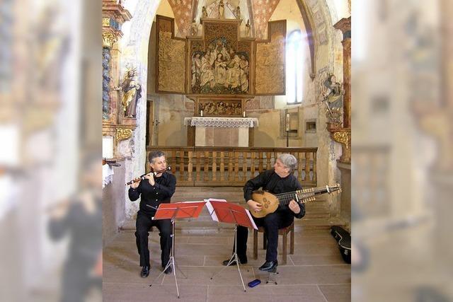Musik aus dem Barock, der Klassik und der Moderne