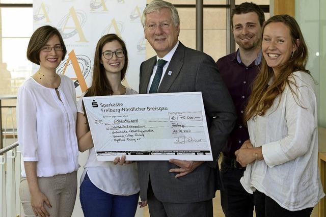 70 000 Euro für studentische Projekte