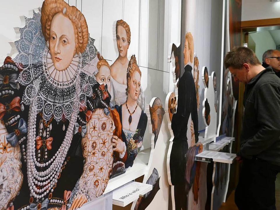 Blick in die Ausstellung  | Foto: Hans-Peter Müller