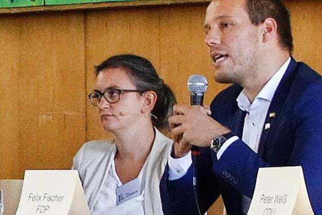 200 Abiturienten befragen Bundestagskandidaten