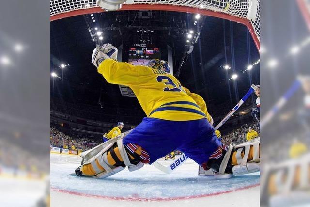 """""""King Henrik"""" und die Schweden enttrohnen die Kanadier"""