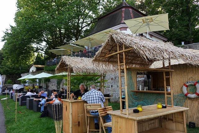 Strandbar in Bad Säckingen soll den ganzen Sommer über geöffnet sein