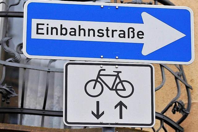 Fahrradklima in Lörrach: Meist heiter, teils wolkig