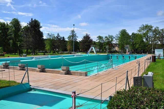 Schwimmbad soll im Juni wieder öffnen