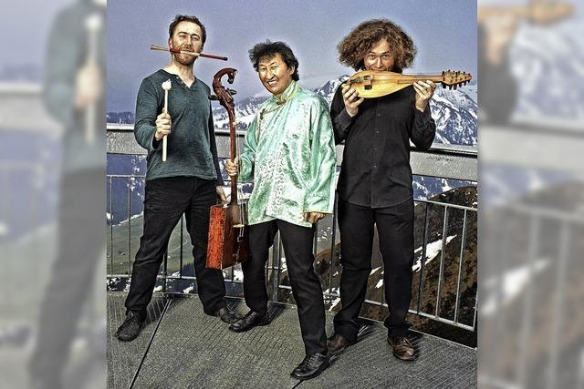 Wild World Music mit Violons Barbares im Ali in Tiengen