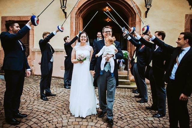 Tobias Benz hat kirchlich geheiratet