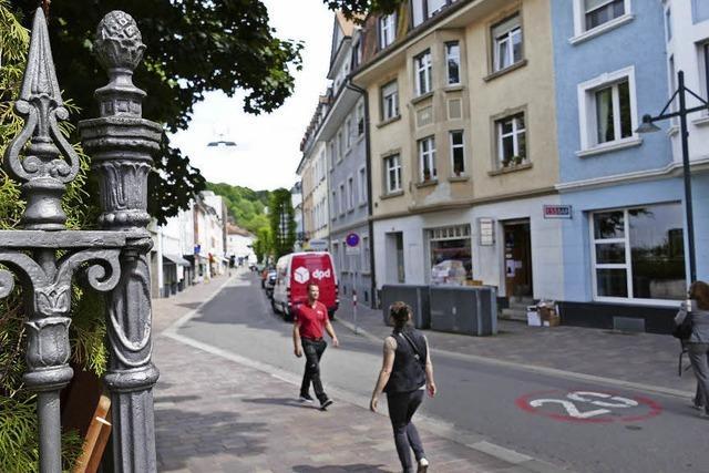 Pro Lörrach will Grabenstraße im Kontext sehen