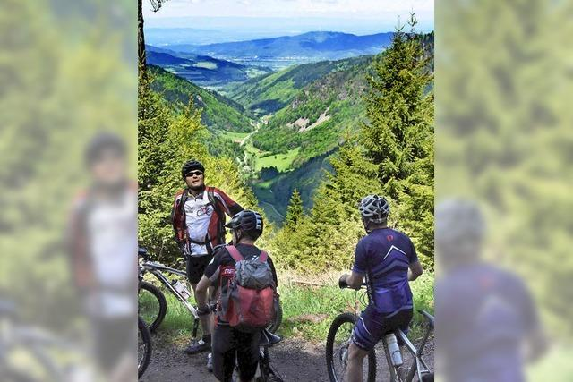 Bike(tor)tour im Biosphären-Bannwald