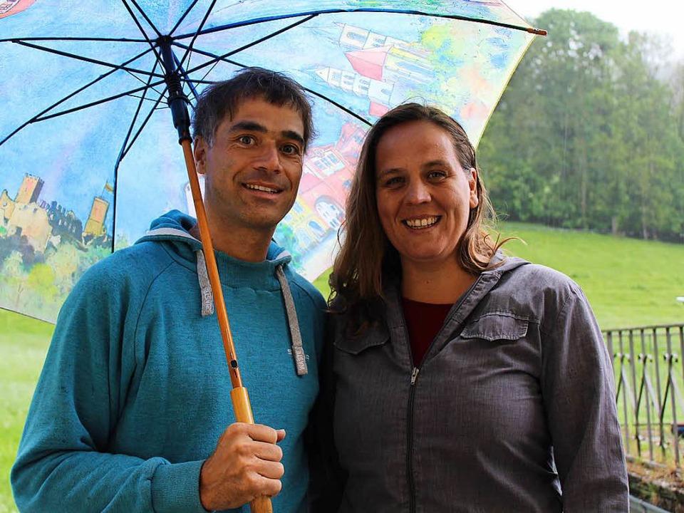 Christoph Ritthaler und Juana Kofler  | Foto: schnapp.de
