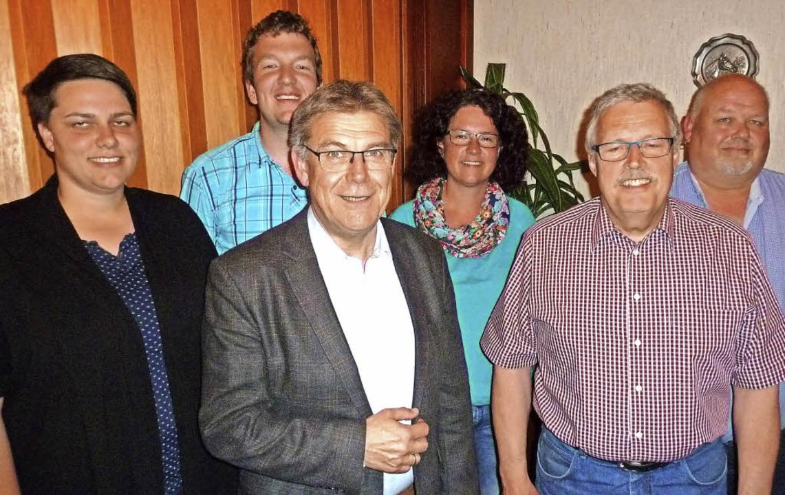 So sieht der Vorstand aus (von links):...r, Gerald Münzer und Jürgen Drescher.     Foto: Heidrun Simoneit
