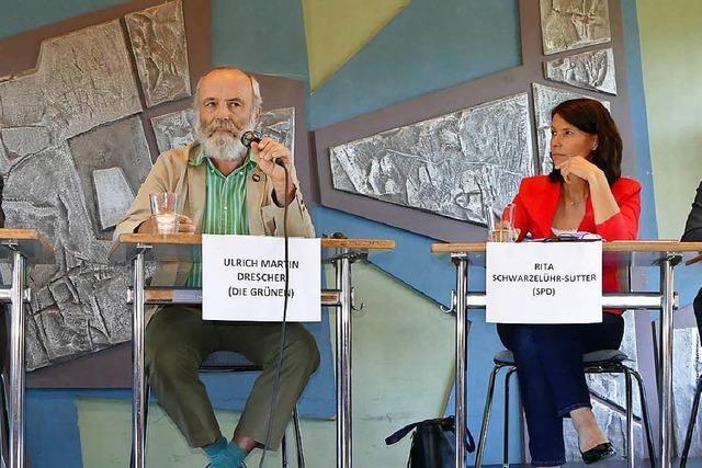 Europa als Kernthema: Podiumsdiskussion im Kreisgymnasium