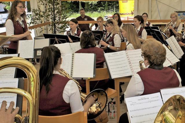 Musikfest in Binzgen