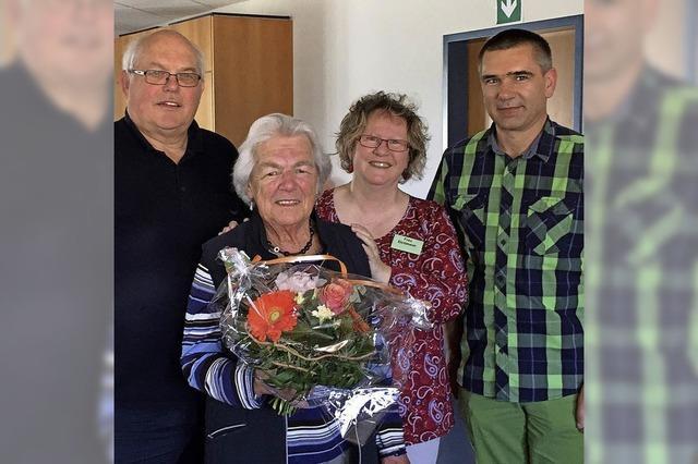 Langjährige Helferin verabschiedet