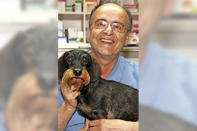 Tierarzt Michael Schleinzer geht in den Ruhestand