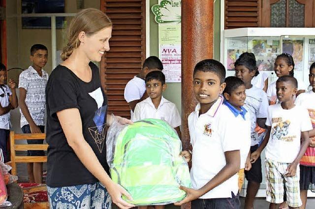 Freiwillig mitanpacken in Sri Lanka