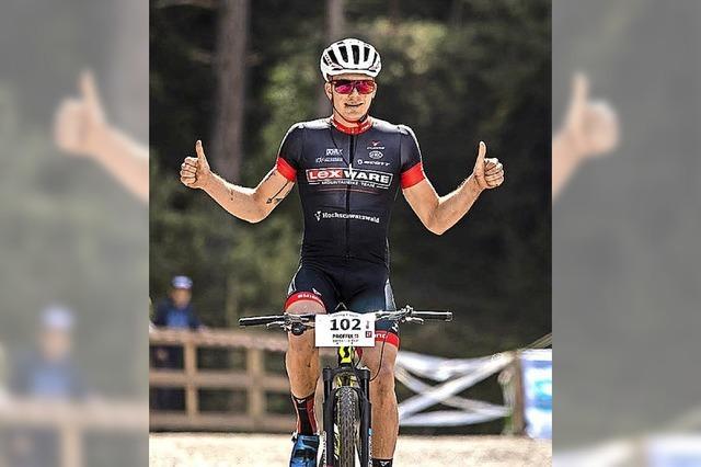 Weltcup in Albstadt: Georg Egger furios aufs Podest