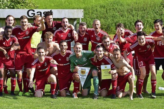 Meisterstück des Freiburger FC II