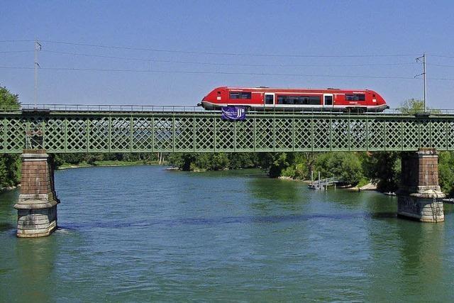 Bahnnetz im Südwesten: Brücken setzen Rost an