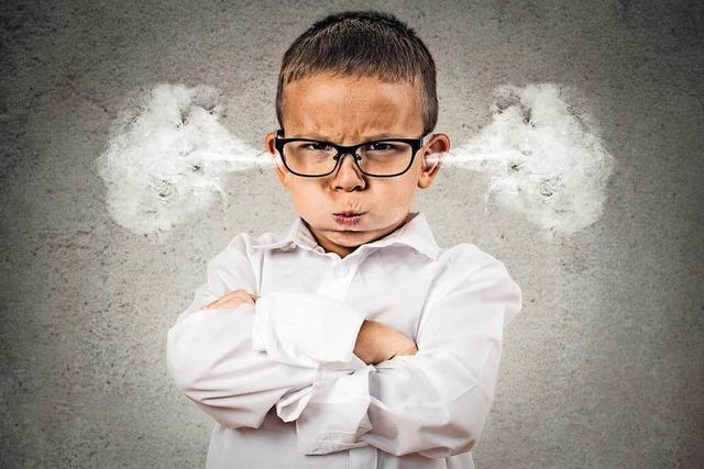 Wie verhalten sich Eltern beim Trotzanfall des Kindes richtig?