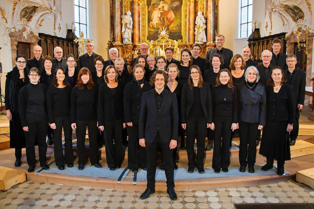 Der Freiburger Kammerchor    Foto: Pro