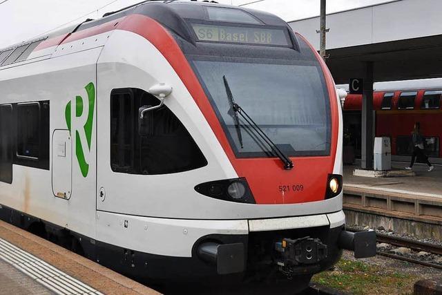 Regio-S-Bahn S6 fährt an Pfingsten über Weil
