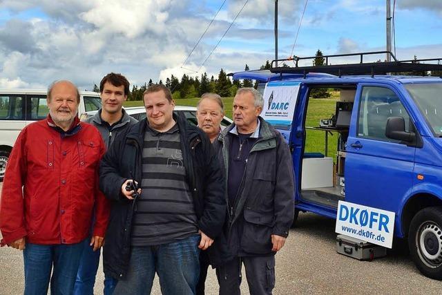 Funkamateure proben Funkverkehr im Katastrophenfall