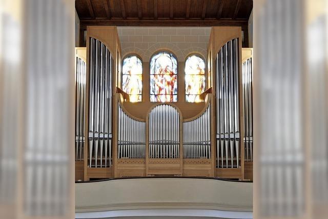 ConBoni-Orgelnacht mit sieben Organisten in Lörrach