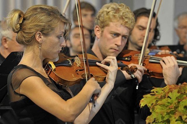 Die Camerata Academica spielt neu komponierte Musik zum Stummfilm