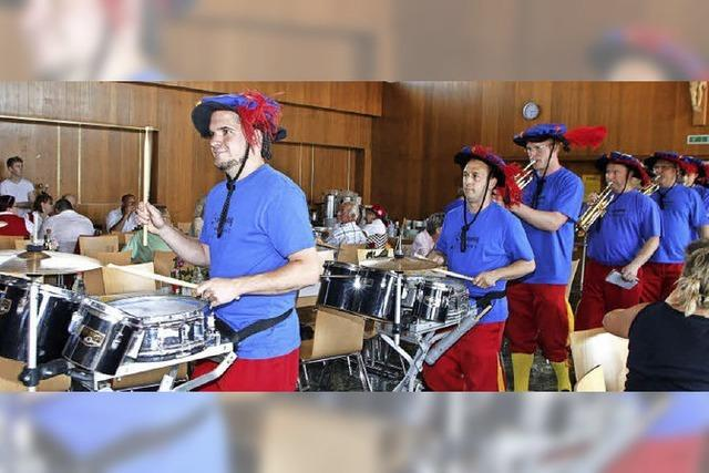 Blechmusik und heiße Rhythmen