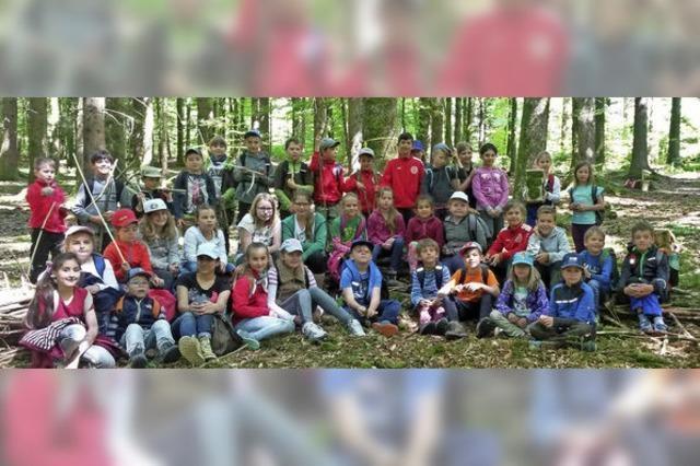Das schönste Klassenzimmer ist der Wald