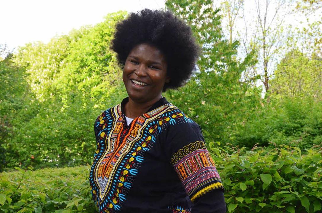 Roubama Baba-Traoré   würde in Deutsch...erne wieder als Journalistin arbeiten.  | Foto: Gabriele Hennicke