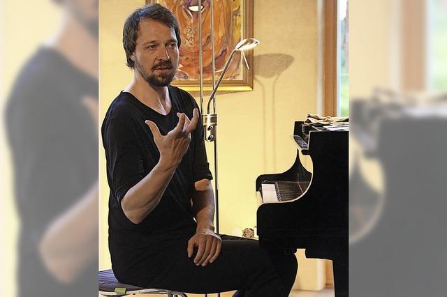 Freiburger Pianist komponiert auf der Bühne live