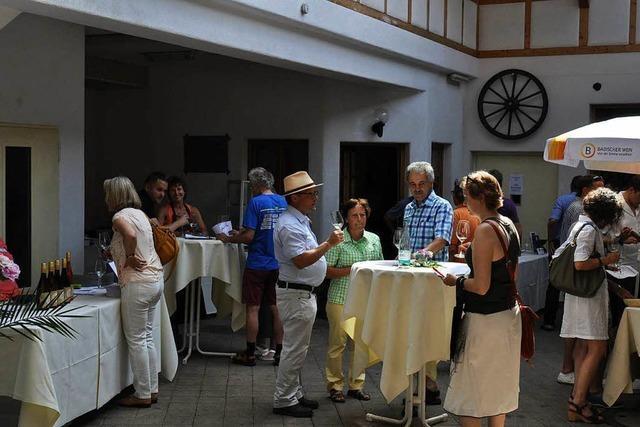 Viel Winzerlob für neues Konzept der Ihringer Weinkost