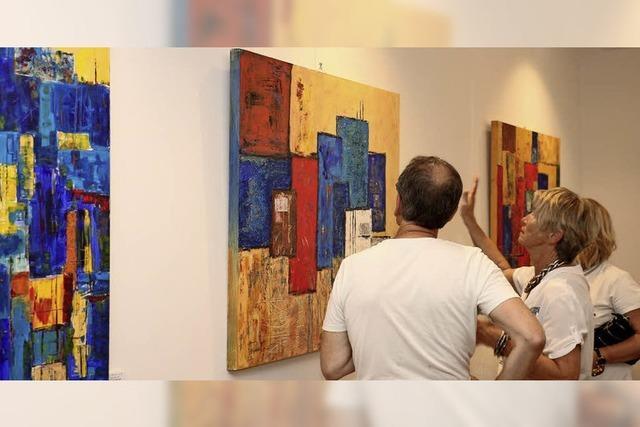 Tour zu Werken von 16 Künstlern