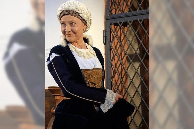 Die Basler Schauspielerin Satu Blanc verkörpert Katharina von Bora