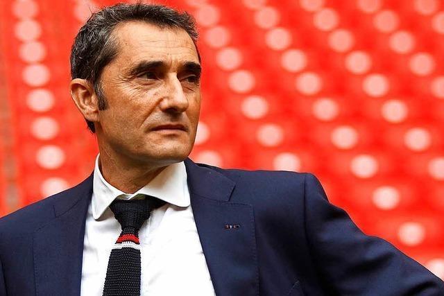Ernesto Valverde neuer Trainer beim FC Barcelona
