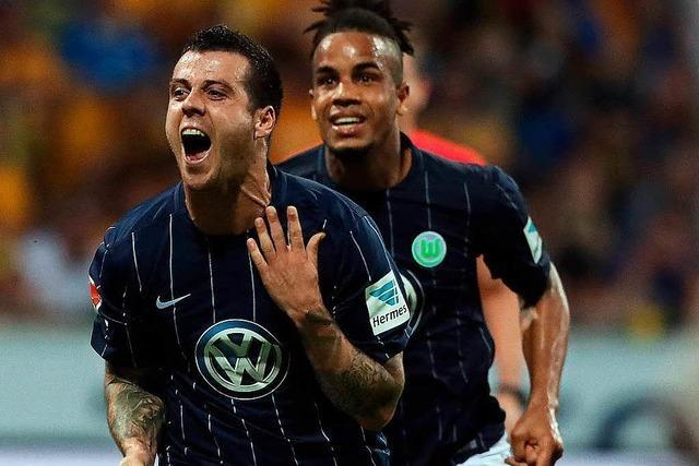 Der VfL Wolfsburg bleibt in der Fußball-Bundesliga