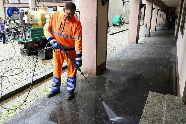 Freiburgs Pinkelecken stinken noch immer - jetzt soll öfter geputzt werden